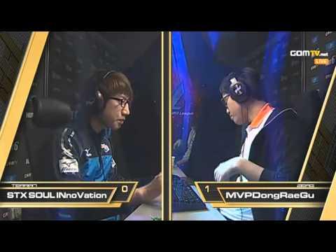 STX iNnoVation Vs MVP DongRaeGu - Code S Winner's Match Group H