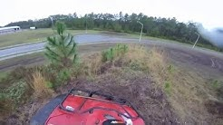 ATV Hill riding Behind Publix Jacksonville, FL