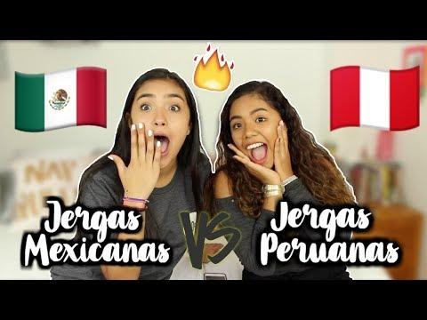 JERGAS PERUANAS VS. JERGAS MEXICANAS!! con XIME PONCH || Johanna De la Cruz