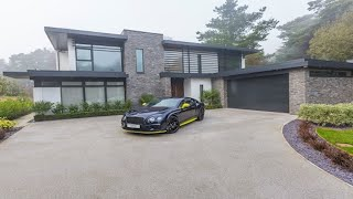 Contemporary 4 Bedroom Detached House in Nairn Road, Poole, Dorset