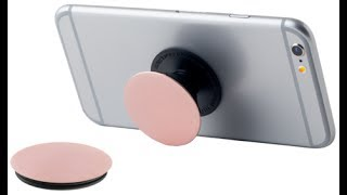 Popsockets Cell Phone Grip and Stand unboxing