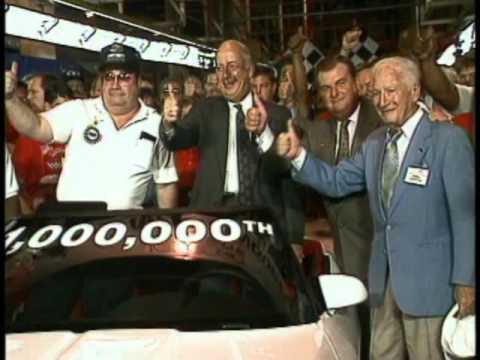 One Millionth Corvette Rolls off Assembly Line