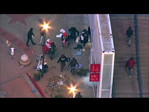 Roving Bands Of Looters Ransack Emeryville Shopping District