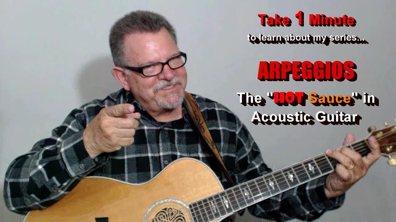 Learn To Blend Arpeggios With Notes To Create Melodic Acoustic Riffs