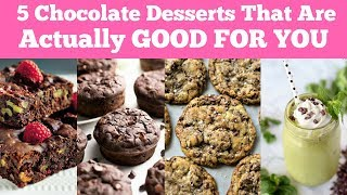 5 Chocolate Desserts That Are Actually GOOD FOR YOU |  Peaceful Eating For Weight Loss