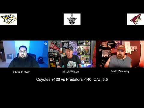 Phoenix Coyotes vs Nashville Predators 8/7/20 NHL Pick and Prediction Stanley Cup Playoffs