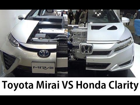 Toyota Mirai Vs Honda Clarity High Tech Jp Cars 2017