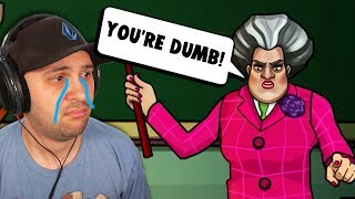 This Is Why Hello Neighbor's Sister Is The WORST TEACHER EVER! | Scary Teacher 3D