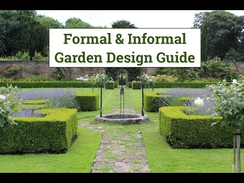 Formal & Informal Garden Design Guide