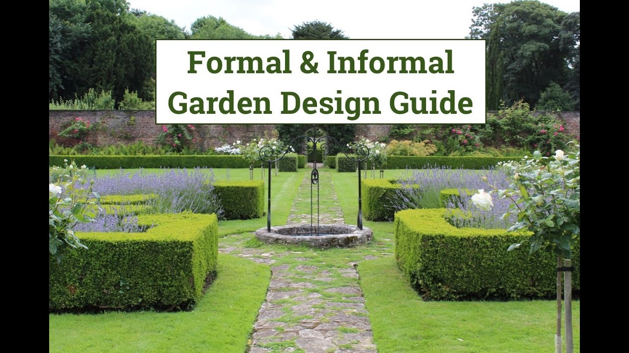 Ordinaire Formal U0026 Informal Garden Design Guide   YouTube