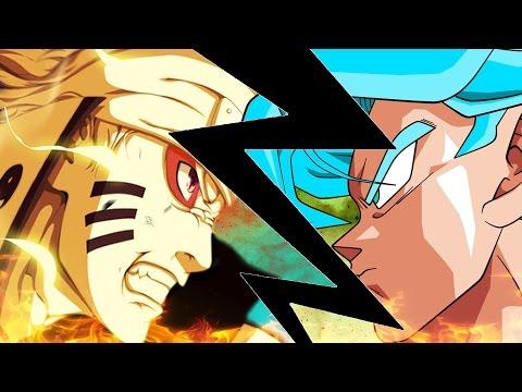 Naruto vs Goku Animation