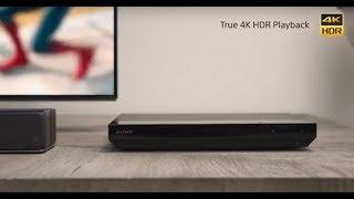 Sony's 4K Ultra HD Blu-ray™ Player | UBP-X700