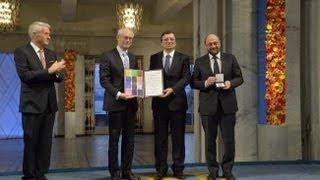 20121211 ノーベル平和賞授賞式の動画