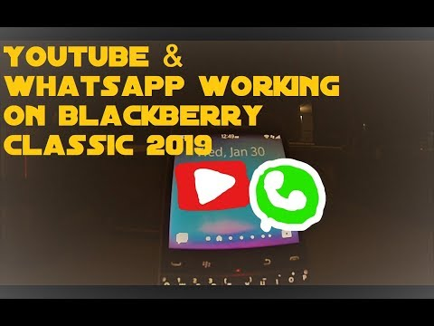 How To Install Youtube And Whatsapp On Your Blackberry Classic Or Blackberry 10 Device 2019