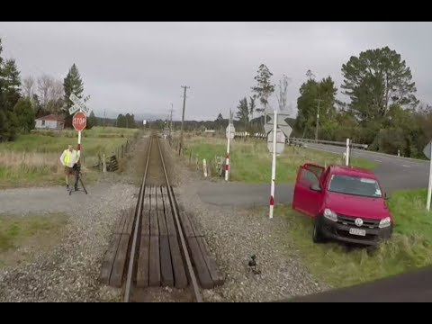 Geoffs Rail View :  Greymouth to Rotumanu   real time speed