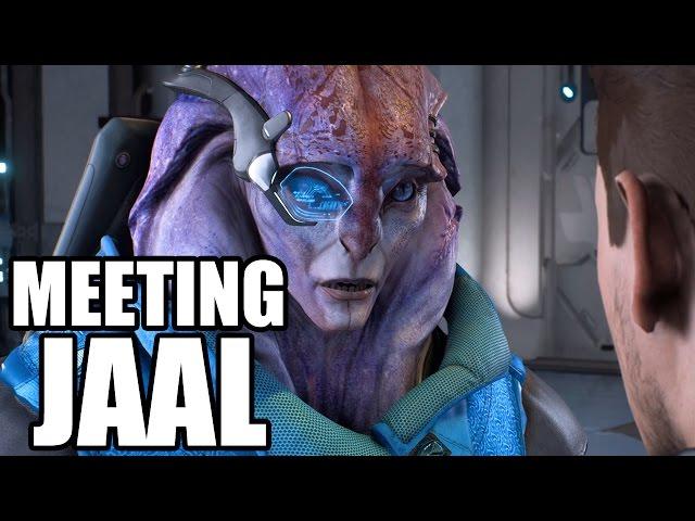 MASS EFFECT ANDROMEDA - Meeting Jaal - Jaal Ama Darav Introduction Scene
