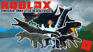 Roblox Dinosaur Simulator Black Friday - BF IS HERE! (SO MUCH STUFF!) Quick Look!