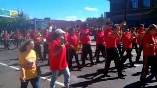 Salem high band allston Brighton parade