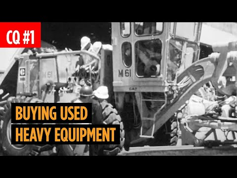 Tips For Buying Used Construction Equipment
