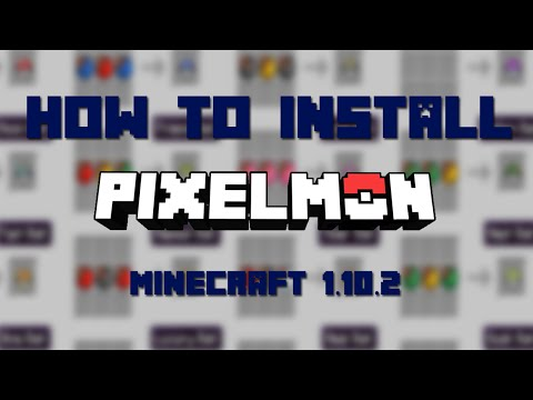 How to Install Pixelmon for Minecraft 1.10.2 [Mac]