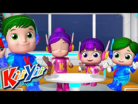 Johny Johny Yes Papa (Parents Version) | Comptines Pour Bébé | Dessins Animés | KiiYii en Français