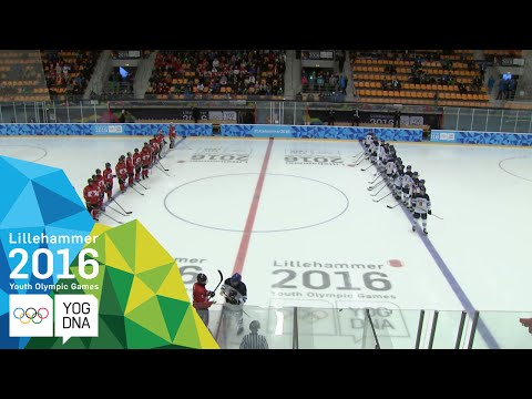 Ice Hockey – Men's Preliminaries – Canada vs Finland | Lillehammer 2016 Youth Olympic Games