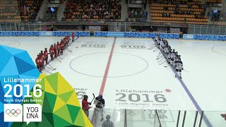 Ice Hockey - Men's Preliminaries - Canada vs Finland | Lillehammer 2016 Youth Olympic Games