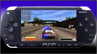 Pursuit force- PSP- Welcome back pack- HD PVR