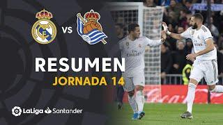 Resumen de Real Madrid vs Real Sociedad (3-1)