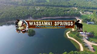 Wassamki Springs Campground in Portland, Maine | Seek Adventure