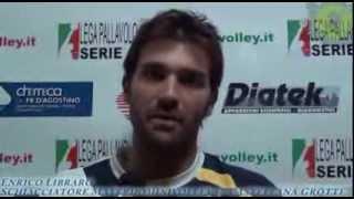 26-12-2013: Intervista ad Enrico Libraro nel post Materdominivolley.it - Matera 1-3