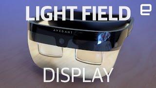 Avegant Light Field Display | Hands-On