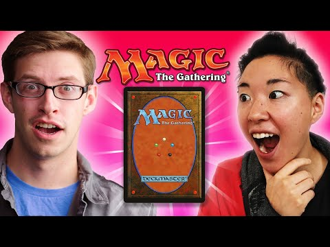People Play Magic: The Gathering For The First Time
