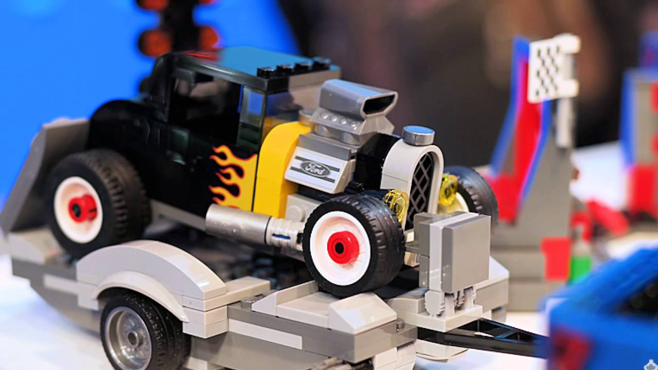 Lego ford mustang and f 150 raptor toy sets announced fordnaias 2016 youtube