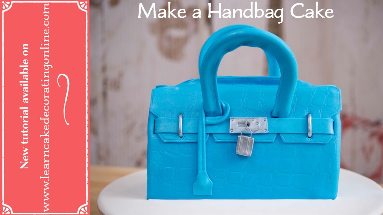 How To Make A Handbag Cake With Jessica Pedemont