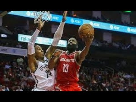 Houston Rockets vs Brooklyn Nets NBA Full Highlights (17th January 2019)