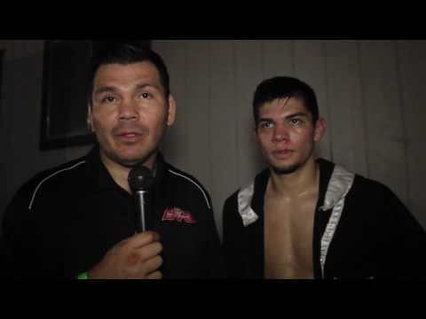 Raul Marquez & Arturo Marquez talks bout Arturo's fight in L