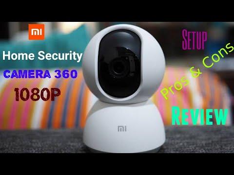 Mi Home Security Camera 360 1080p 720p | Camera Sample | Setup | Pros & Cons | Review | MI Camera