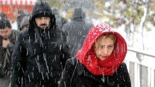 Türkiye'den kar manzaraları - BBC TÜRKÇE