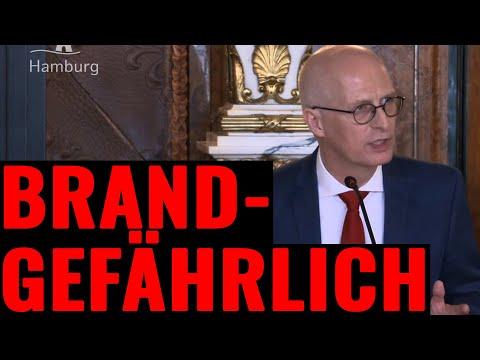 """Einfache Fragen sind """"brandgefährlich"""" für Hamburgs Bürgermeister"""