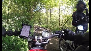 Byways, Green Lanes and Road Riding on a CRF 250L along side a Ducati Scrambler Icon