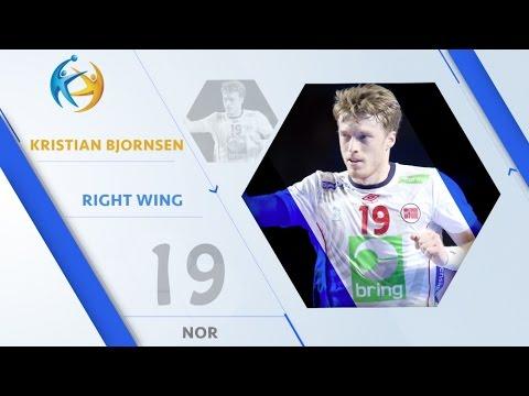 Kristian BJORNSEN (NOR) - Right Wing  | France 2017 All-Star Team