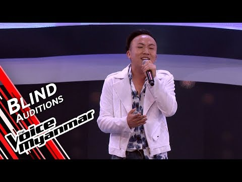 Nicholas Pasangma - Perfect (Ed Sheeran) | Blind Audition - The Voice Myanmar 2019