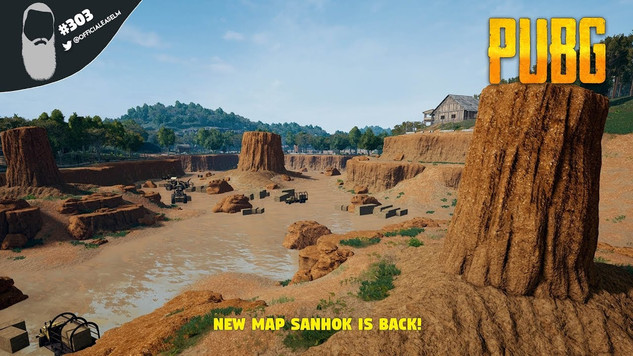 New Map Sanhok Now Available For Pubg On Pc: PUBG #303 PC Gameplay Live Stream