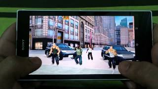 SONY XPERIA Z ULTRA THE AMAZING SPIDER MAN GAMEPLAY