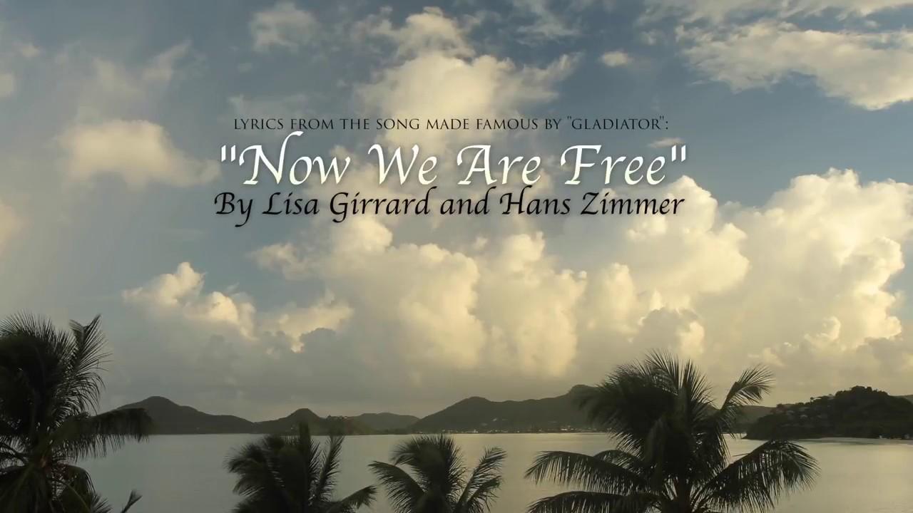 lisa gerrard now we are free lyrics