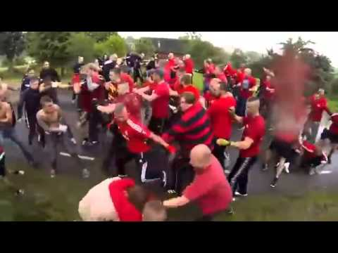 Great hooligan Fight: Denmark VS Sweden - GAIS Gothenburg vs  Helsingborg and Copenhagen