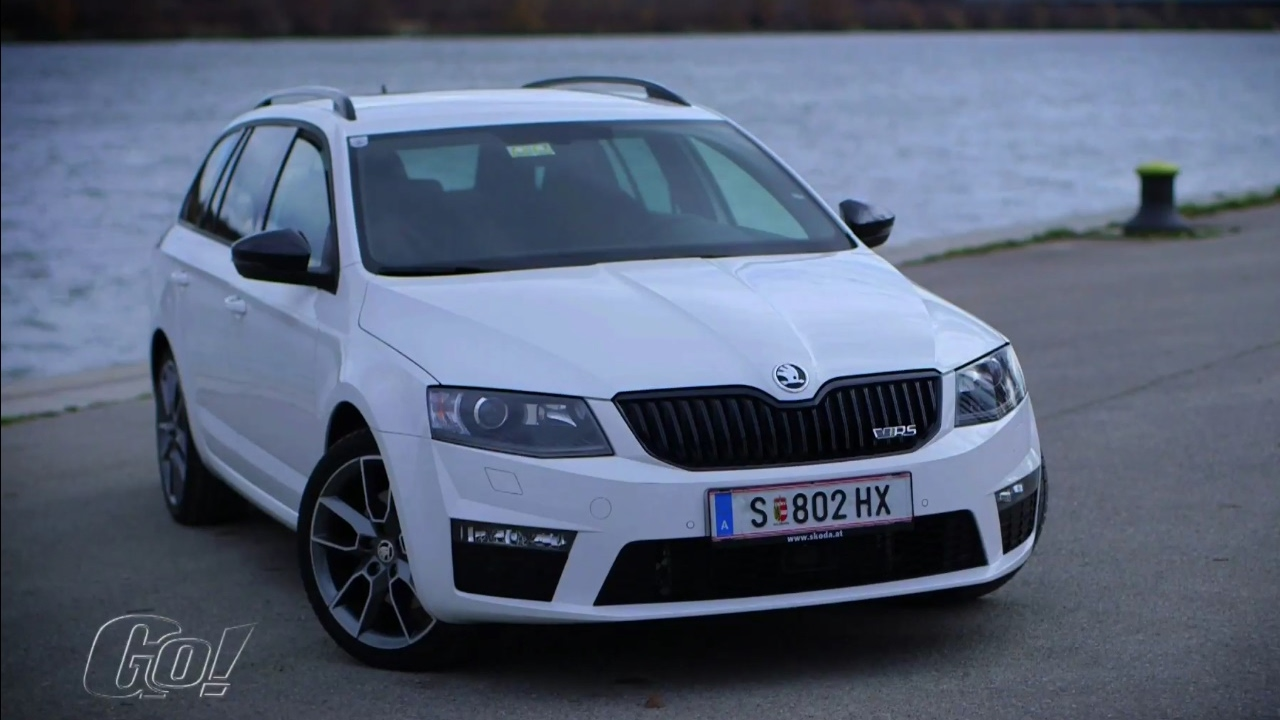 weiss und unschuldig skoda octavia rs 2017 der test youtube. Black Bedroom Furniture Sets. Home Design Ideas