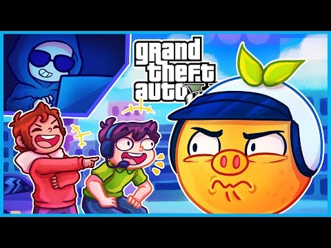 GTA 5 Online but hackers turned me into an orange and ruined our heist... Latest Gaming Videos on VIRAL CHOP VIDEOS