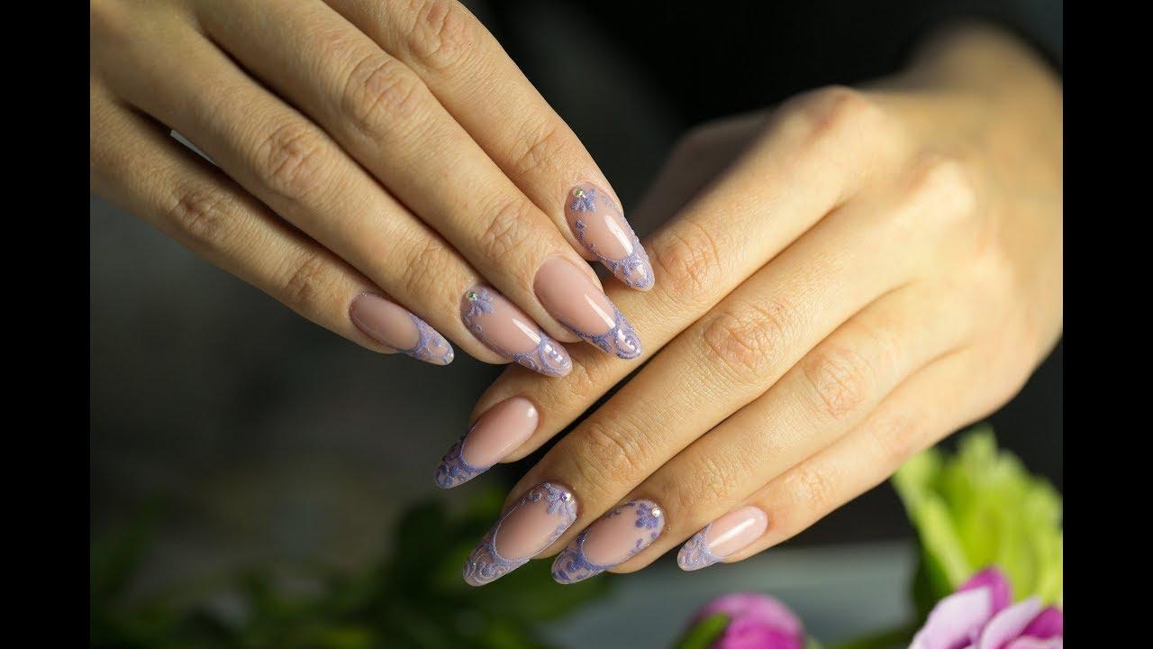 Все о наращивании ногтей форма миндаль